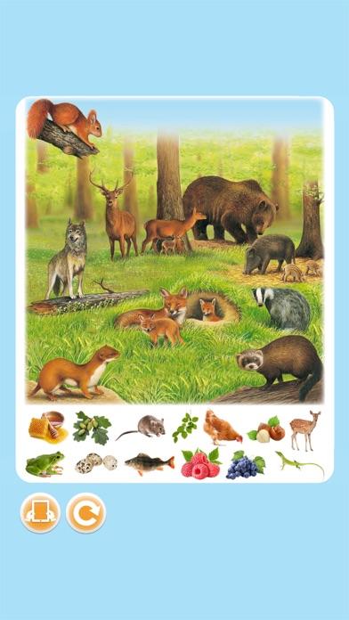 Imagerie animaux interactiveCapture d'écran de 1