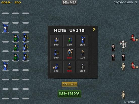 Screenshot #6 pour 8bitWar: Necropolis