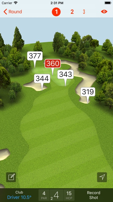 Fun Golf GPS Screenshots