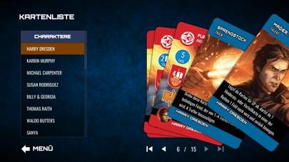 Screenshot 1 Dresden Files Co-op Card Game