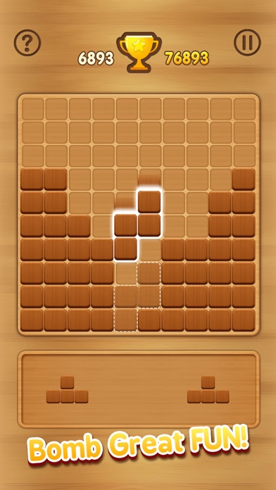 Wooden Block Puzzle - Extreme