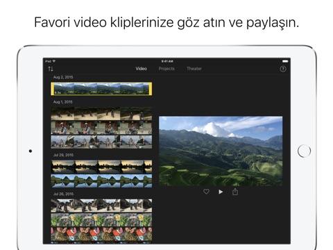 iMovie screenshot 2