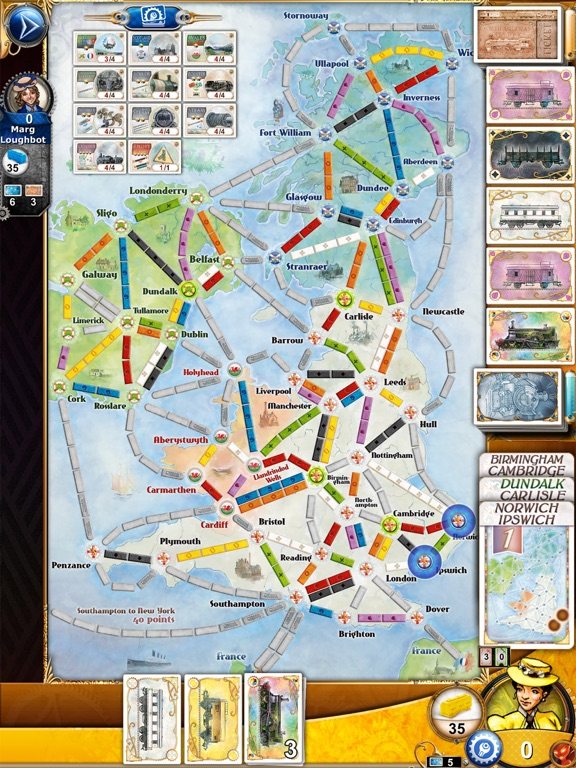 Ticket to Ride Screenshots