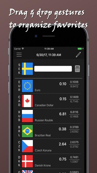 Rapid Currency Converter Screenshot