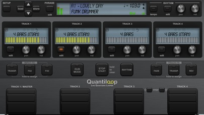 Quantiloop Pro - Live Looper Screenshot 1