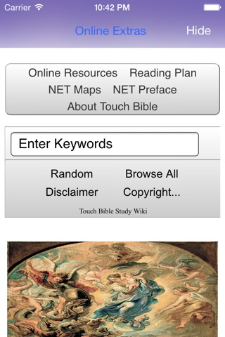 Touch Bible: KJV + Strongs screenshot 3
