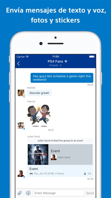 download PlayStation Messages apps 1
