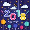 新年框架照片拼貼畫