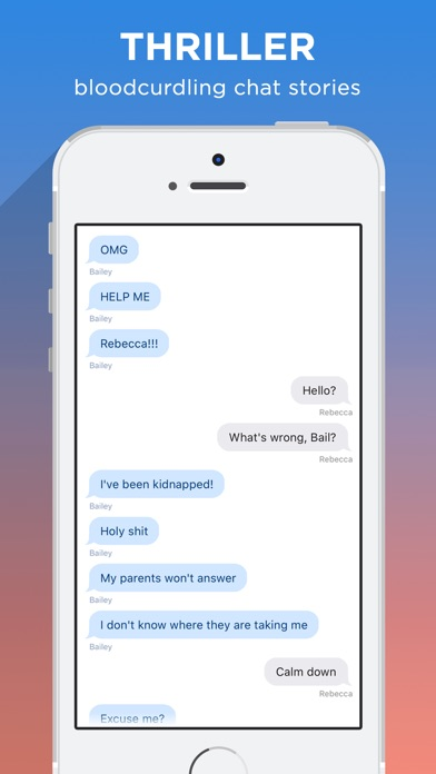 Screenshots of FanFiction Chats for iPhone