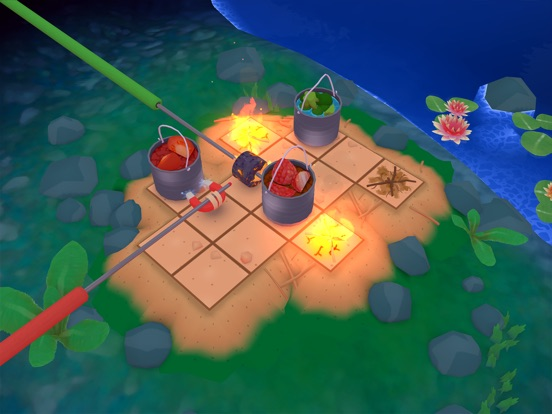 Screenshot 3 Campfire Cooking