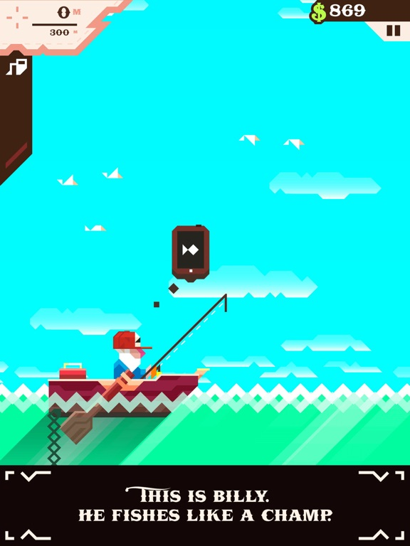 Ridiculous Fishing - A Tale of Redemption на iPad