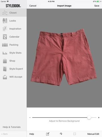 Stylebook Men screenshot 3