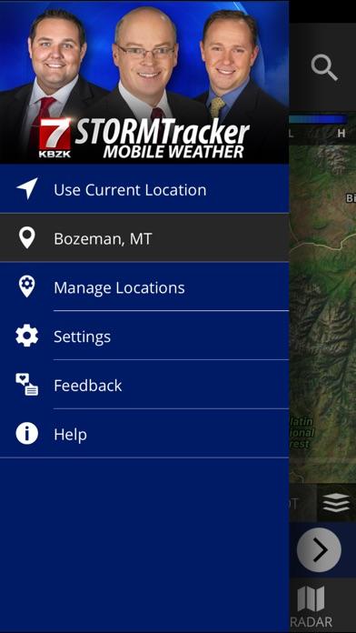 KBZK STORMTracker Weather AppScreenshot of 5