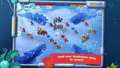 Screenshot for Mushroom Wars: Space! in Australia App Store