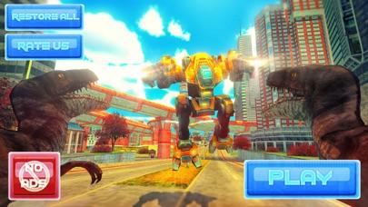 Robot Vs Dinosaur screenshot 1