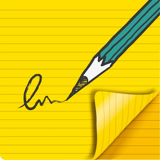 PocketJot - freehand notepad iOS App