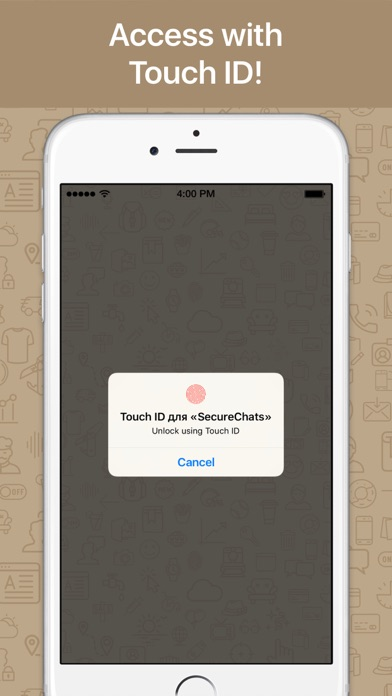 Secure chats and messages Screenshot 2