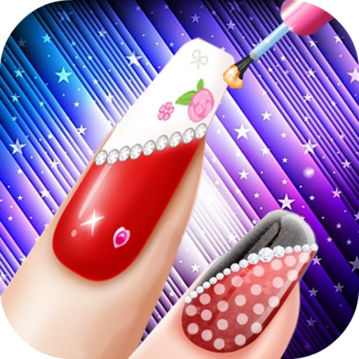 Baby Seven Nail Salon - Little and Cute Angel/Fashion Nails Salon iOS App