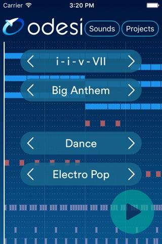 Download Odesi Chords - Create Rhythms, Basslines, Chord