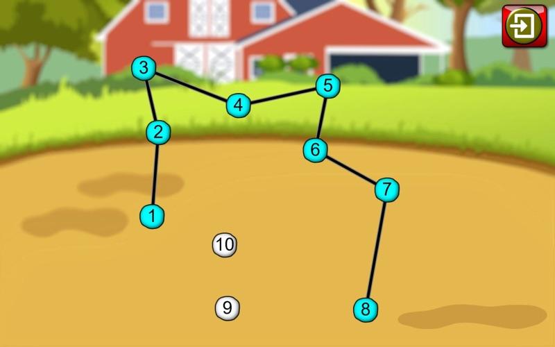 Preschool ABC Farm Animal Join The Dot Puzzles App