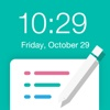 NotePad for Lock screen - Wallpaper Editor for Lock Screen - Reminder for Lock Screen virtual screen