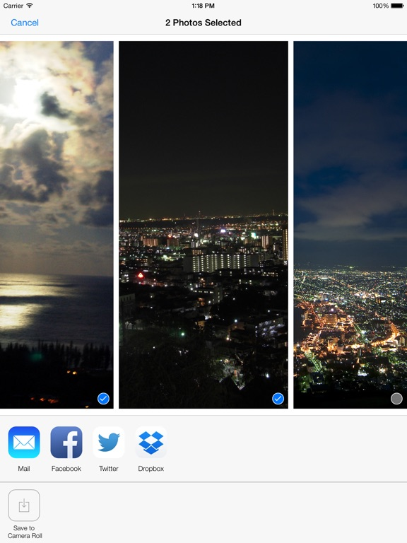Night Mode Camera Photo, Video Screenshots