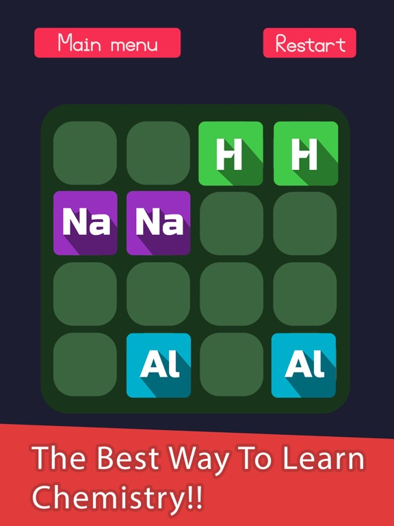 2048 in periodic table a chemistry puzzle game on the app store ipad screenshot 1 urtaz Images