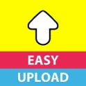 EasyUp Free For Snapchat - Send photos & videos from your camera roll icon