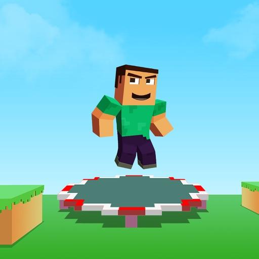 Backflip Trampoline Craft Madness: Hop Hop Hop Man Jump iOS App