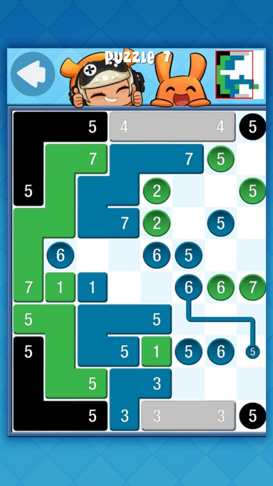 Piczle Lines JR: Blue Screenshot