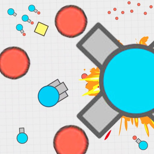 diep.io tank war - Battle of Tanks with move and shot other tanks iOS App
