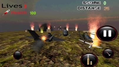F16 هجوم طائرات هليكوبتر - قصف القوة الجوية للعدو مع طائرة مقاتلةلقطة شاشة4