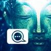 仏カムは、毎日ヨガの瞑想は、仏教の言葉&フィルターで写真のカメラを引用します
