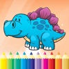 Dinosaur Dragon Coloring Book - Dino drawing for kid free, Animal paint and color games HD for good kid