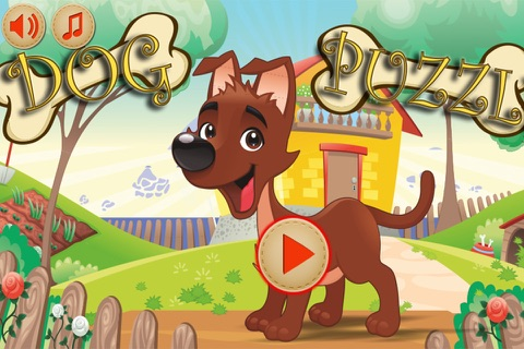 Baby Puzzles : Funny Dogs screenshot 3