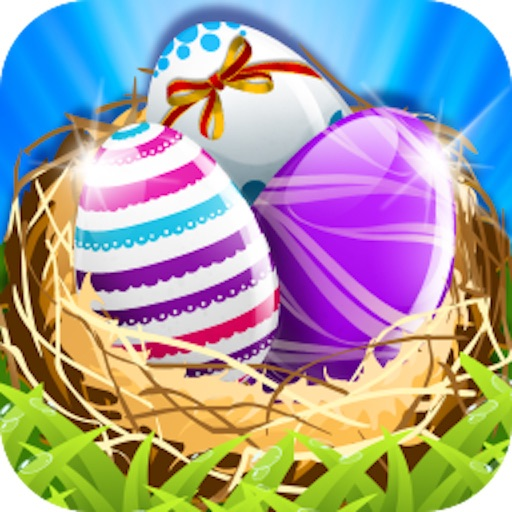 Smash Easter Eggs HD-Easy match 3 game for everyday fun iOS App