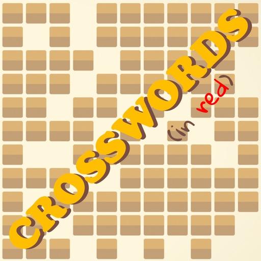 Crosswords in Red iOS App