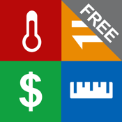 Convert Units FREE app - Units Plus Best Unit & Currency Converter - Metric to Imperial Conversion icon