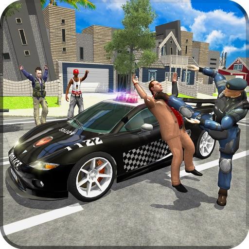 Police Car VS Criminal Chase Sim-ulator iOS App