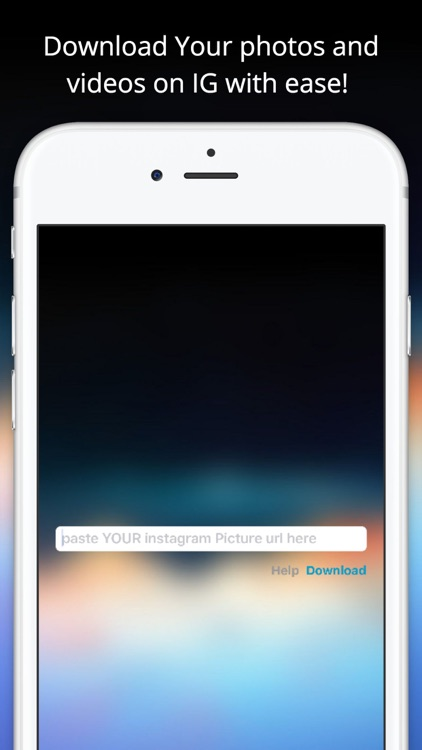 SaveStagram : save Your Own instagram pictures by Jonathan Njilay