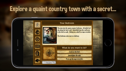 Shady Brook - A Dark Mystery Text Adventure Screenshot