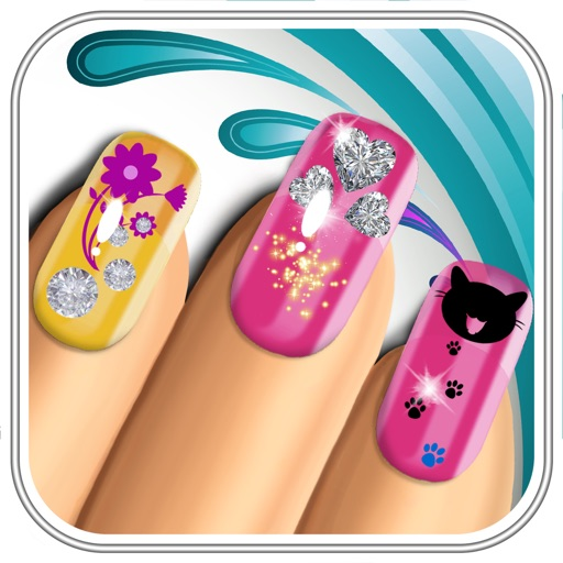 Nail Salon for Fashion Girl Makeover – Design Nails Art with Virtual Manicure Game.s for Girls iOS App