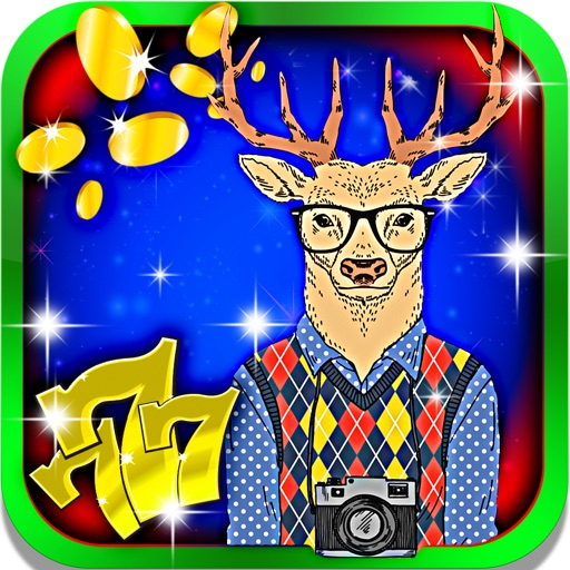 Hipster's Slot Machine: Be fabulous, play the Big Six Wheel and win super hot deals iOS App