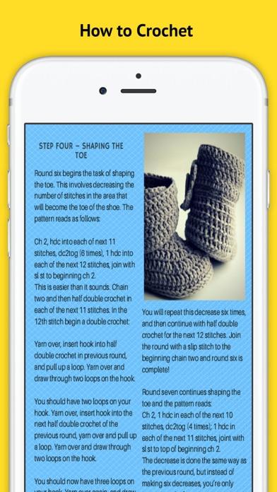 Learn Crocheting review screenshots