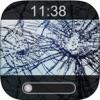 Break My Phone-Fake Lock Screens and Breaking Glass Wallpaper