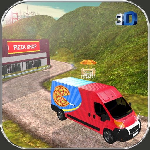 Pizza Delivery Van Simulator - City & Offroad Driving Adventure Icon