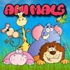 Easy Animals Jigsaw Drag And Drop Puzzle Match Games For Toddlers And Preschool