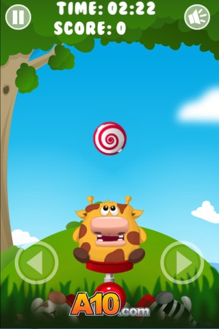 Animal Sweets Move Circle screenshot 1
