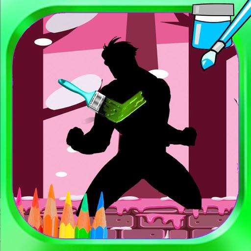 Color Book Game Cyclops Draw Edition iOS App