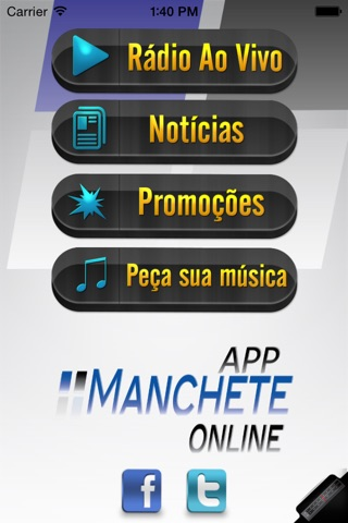 Manchete Online screenshot 1